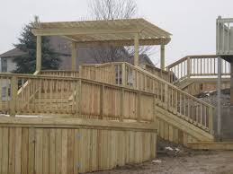 having deck skirting home landscapings cool deck skirting