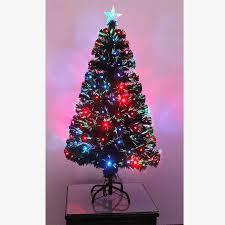 Christmas Tree 6ft Ebay by Led Fibre Optic Christmas Tree Various Design Lightings Pre Lit