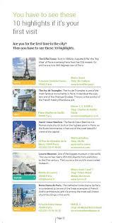 MyCityHighlight Travel Guide Paris