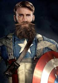 Cap Sports A Beard In The New Avengers Infinity War Poster