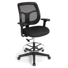 Harwick Ergonomic Drafting Chair by Furniture Office Professional Stool With Round Swivel Seat