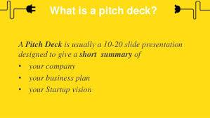 Deck Designing by Startup Leadership Programme Pitch Deck Designing And Presentation