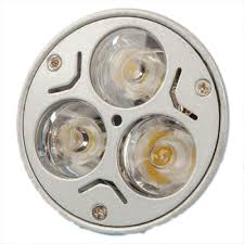 3 1w mr16 gu5 3 led light bulb 3w 12v warm white ts ebay