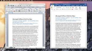 Microsoft fice 2011 for Mac vs fice 2016 for Mac