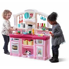 kitchen awesome play kitchens for toddlers step 2 kitchen playset