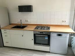 ikea hittarp küche massivholz platte elektrogeräte beko bosch