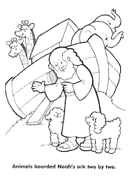 Noahs Ark Coloring Pages Barriee View Larger