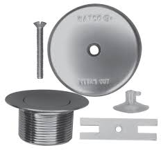 Bathtub Drain Strainer And Stopper by Watco Presflo Bath Tub Drain And Stopper Kit