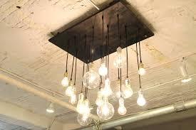 28 hanging bulb chandelier modern wrought iron light chande g
