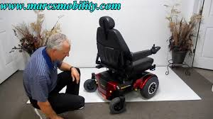 Jazzy Power Chairs Used by Jazzy 1450 Large Used Power Chair Youtube