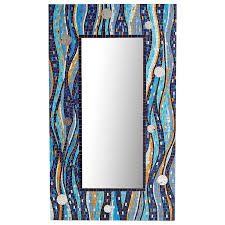 Pier One Mosaic Floor Lamp by Blue Waves Mosaic Floor Mirror Pier 1 Pinterest Floor Mirror