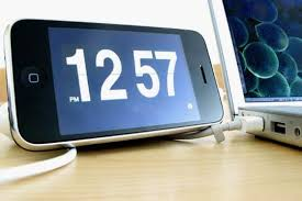 iPhone Flip Clock is Our New Bedside Clock