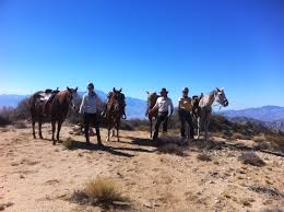 Knob Hill Ranch Vacation Rental Yucca Valley and horse trail