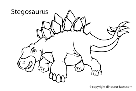 Dinosaur Printables Coloring Pages