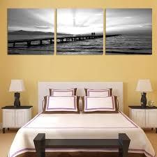 chambre pour amants pas de cadre 3 pièces décoration pour chambre à coucher noir amant