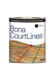 Bona Water Based Floor Sealer by Bona Courtlines Sport Floor Paint