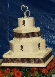 Browning Cake Minus The Stuff Underneath Redneck WeddingsRedneck Wedding CakesRustic
