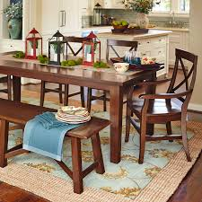 Pier 1 Dining Chairs by Torrance Mahogany Brown Dining Tables Pier 1 Imports