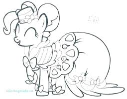 My Little Pony Coloring Pages Pinkie Pie With