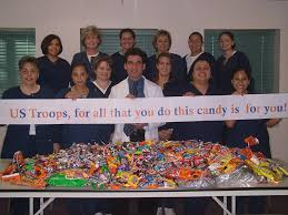 Operation Gratitude Halloween Candy Buy Back by Dr G U0027s 2015 Candy Buy Back Press