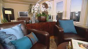 Transitional Living Room Leather Sofa by Long Living Room Ideas Transitional Living Room Hgtv