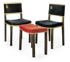 King Edward V11 Chair by Game Of Thrones British Coronation Furniture Luke Honey