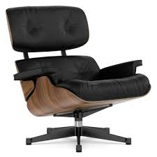 Vitra Lounge Chair, Walnut With Black Pigmentation, Nero, 84 Cm - Original  Height 1956, Aluminium Polished, Sides Black 12 Things You Didnt Know About The Eames Lounge Chair Why Are The Chairs So Darn Expensive Classic Chair Ottoman White With Black Base Our Public Bar Hifi Wigwam Vitra Walnut Black Pigmented Lounge Chair Armchairs From Architonic Version Pigmentation Nero 84 Cm Original Height 1956 Alinium Polished Sides Conran Shop X Departures Magazine