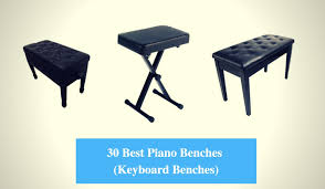 56 Best Benches Stools Images 30 Best Piano Bench Reviews 2018 Best Keyboard Bench Cmuse