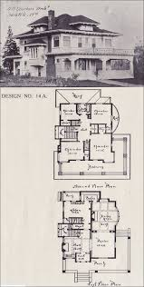 American Foursquare Floor Plans Modern by 561 Best Bungalows Exteriors And Floor Plans Images On Pinterest