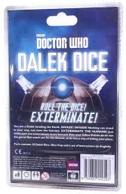 Make Dalek Christmas Tree by Doctor Who Dalek Dice Amazon Co Uk Toys U0026 Games