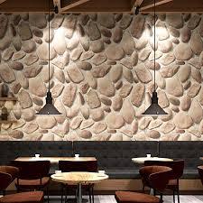 pvc tapete retro nachahmung pebble stein foto wand papiere restaurant cafe küche hintergrund wand vinyl wasserdichte wohnkultur