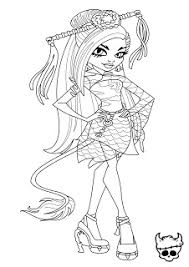 You Have Read This Article Monster High Coloring With The Title Jinafire Long Page Can Bookmark URL