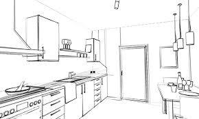 zeichnung der küche nutzen vorteile