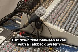 Talkback System Mic For Studio Booth Recording 1