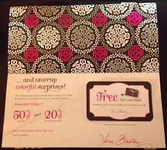 Vera Bradley Promotion Codes - Where Can I Buy A Flex Belt Vera Bradley Handbags Coupons July 2012 Iconic Large Travel Duffel Water Bouquet Luggage Outlet Sale 30 Off Slickdealsnet Cj Banks Coupon Codes September 2018 Discount 25 Off Free Shipping Southern Savers My First Designer Handbag Exquisite Gift Wrap For Lifes Special Occasions By Acauan Giuriolo Coupon Code Promo Black Friday Ads Deal Doorbusters Couponshy Weekend Deals Save Extra Codes Inner