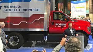 100 Trillium Trucking Roush Unveils Allelectric Ford F650 Fleet Owner