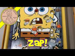 Video Operation Spongebob Edition Skill Game 2007 Hasbro Toys
