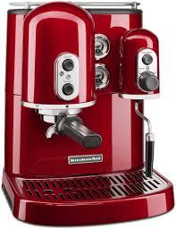 Pro Line KitchenAid Espresso Maker Cappuccino Machine Empire Red