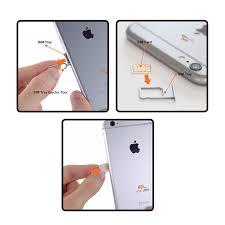 Mobi Lock Sim Card Tray Eject Pin Tool for iPhone X 8 Amazon