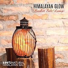Himalayan Salt Lamp Amazon by Himalayan Glow 1332 Natural Himalayan Pillar Salt Basket Lamp 5
