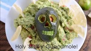 Puking Pumpkin Guacamole Recipe by Holy Skull Y Guacamole Youtube