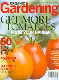 Gardening Magazines for Tomato Gardeners