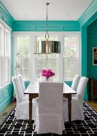 brown and turquoise bedroom painted furniture tutorial