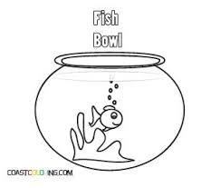 Pin Fish Bowl Clipart Coloring Page 10