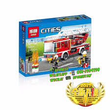 Compatible Brick 02054 The Fire Ladder Truck, Toys & Games, Toys On ...