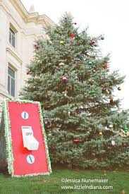 Christmas Tree Cataract Seen In by Christmas On The Square In Danville U2013 Littleindiana Com