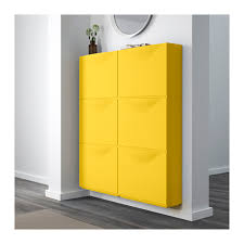 Ikea Hemnes Linen Cabinet Yellow by Trones Shoe Storage Cabinet Yellow Yellow 20 1 8x15 3 8