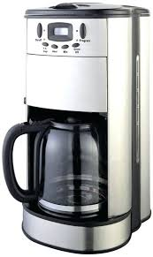 Built In Coffee Makers Fresh Brew The Maker Has A