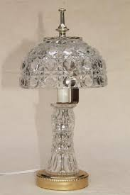 Stiffel Vintage Lamp Shades by Vintage Replacement Glass Lamp Shades