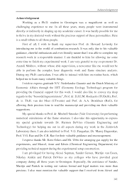 Thesis Acknowledgement Examples